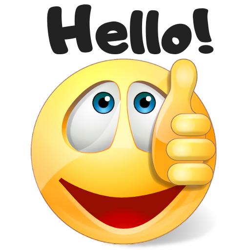 WhatSmiley - Smileys, GIF, emoticons & stickers Icon