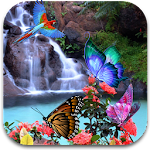 3D Butterfly Live Wallpaper Icon
