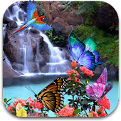 3D Butterfly Live Wallpaper