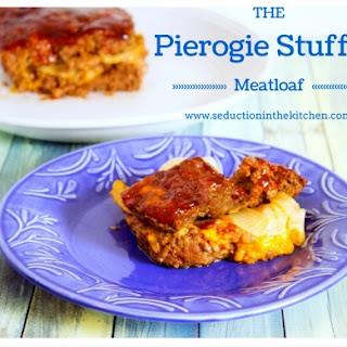 Pierogie Stuffed Meatloaf