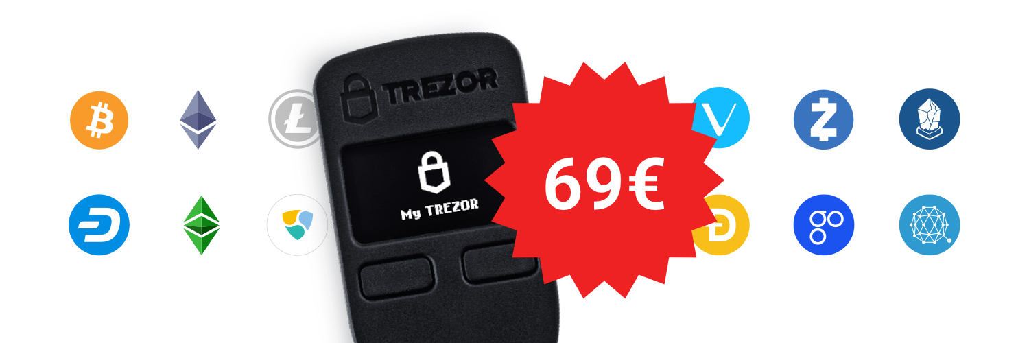 Trezor One - one of the oldest crypto hardware wallets