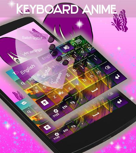 無料个人化AppのアニメのHDのキーボード|記事Game