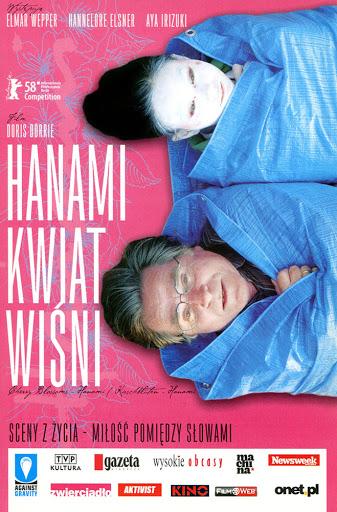 Przód ulotki filmu 'Hanami - Kwiat Wiśni'