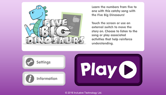 Five Big Dinosaurs- screenshot thumbnail