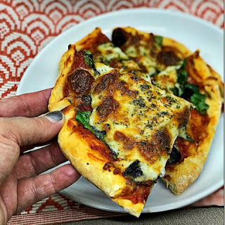 Skinny Pizza Dough.