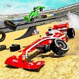 Formula Car Crash Derby Stunt Racing