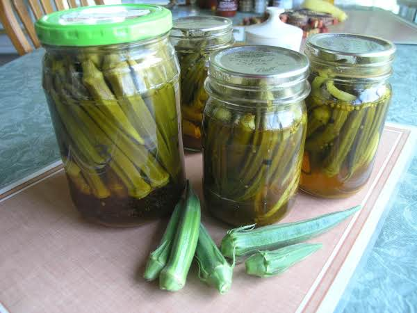 Bread & Butter Pickled Okra Recipe