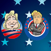Trump vs Hillary Vote Clicker