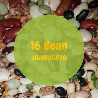 16 Bean Jambalaya Stew