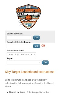 Clay Target Leaderboard- screenshot thumbnail
