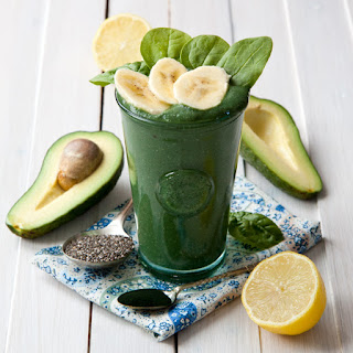 Avocado Smoothie With Spirulina