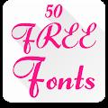 Fonts for FlipFont 50 #6 download