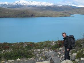 Photo: Jason near a glacier lake