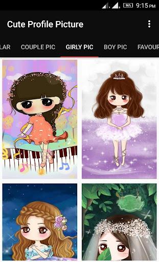 Cute Profile Wallpaper 1.7 screenshots 3