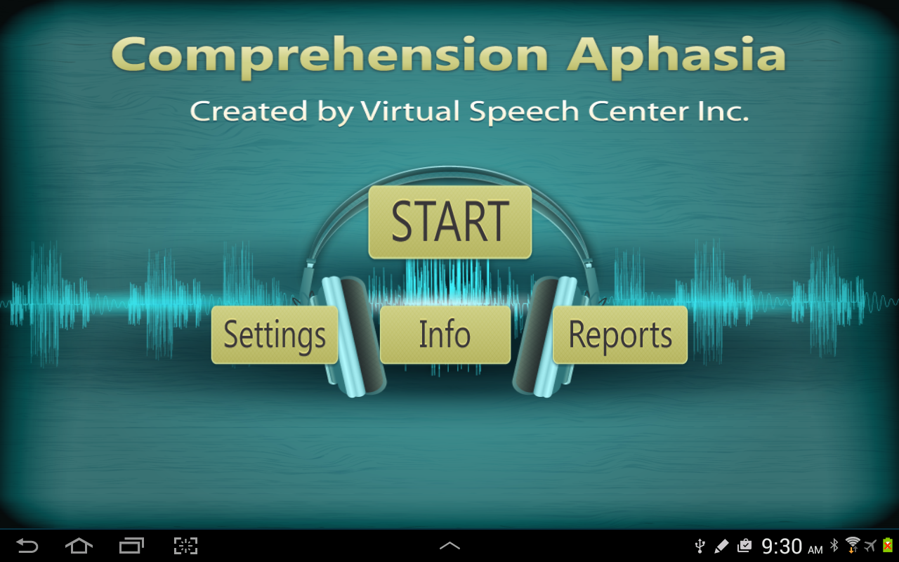 Comprehension Aphasia- screenshot