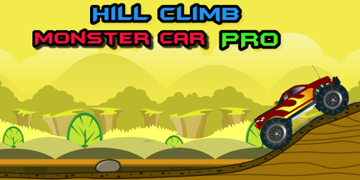 Hill Climb Monster Car Pro