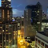 views of downtown Toronto in Toronto, Ontario, Canada