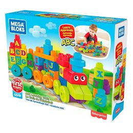 Set de joaca Mega Bloks Tren muzical ABC