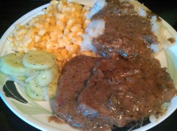 Country-style Smothered Steak Recipe