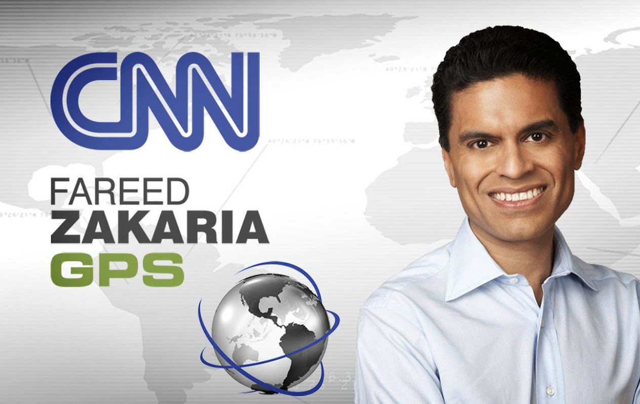 Image result for fareed zakaria gps