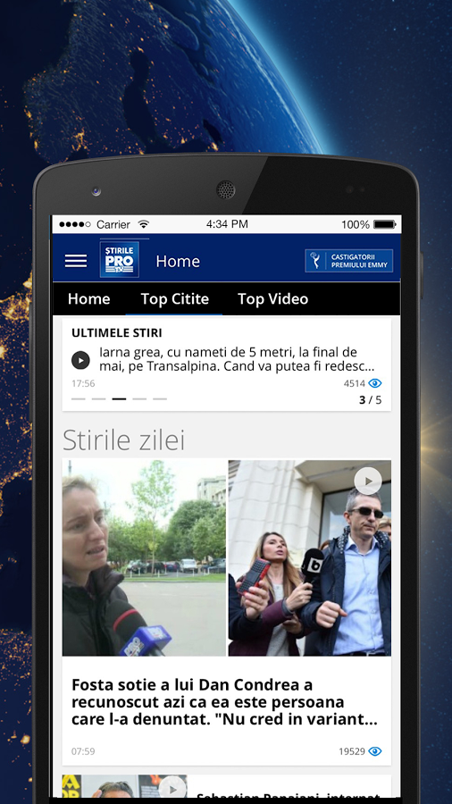 Stirile ProTV- screenshot