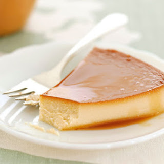 Pineapple-Cream Cheese Flan Recipe