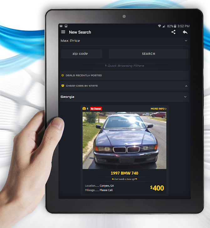 Cheap Cars For Sale - Autopten Android 10