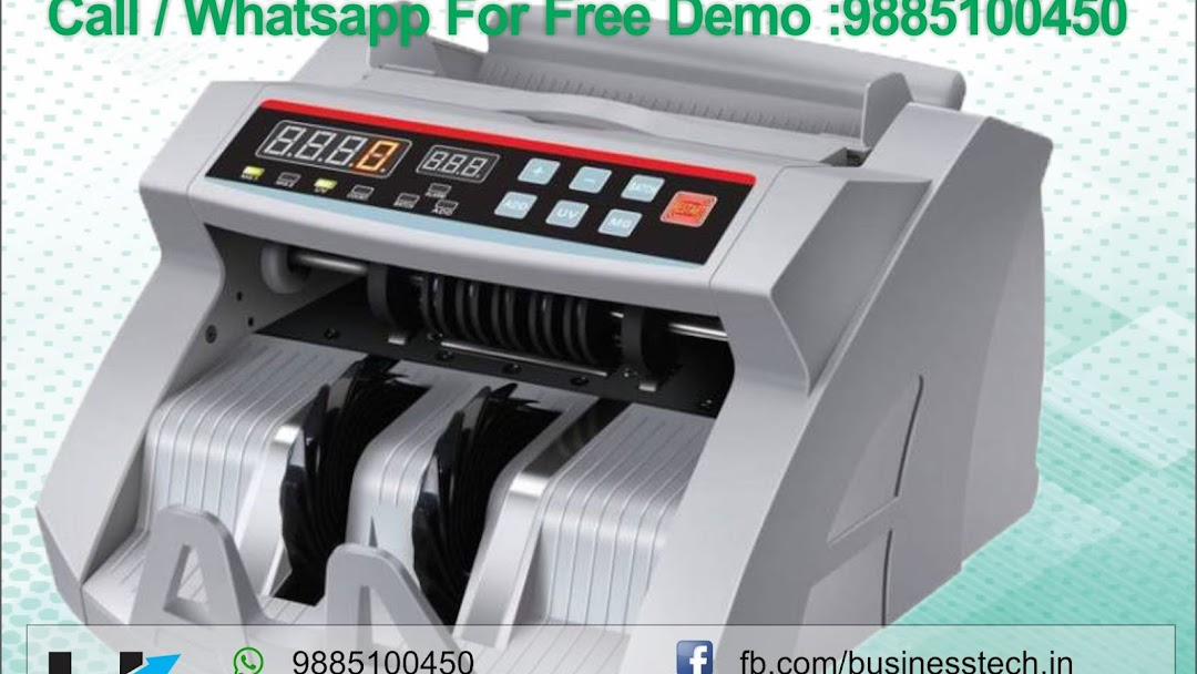Cash Currency Counting Machine Dealer