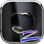 Bright Black Apple - ZERO Launcher