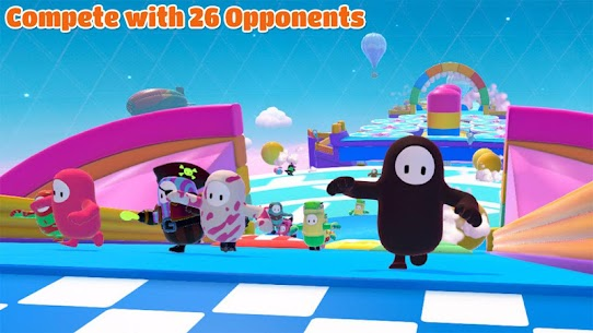 Fall Guys 3D Knockout: Ultimate Fun Race MOD (Free Rewards) 1