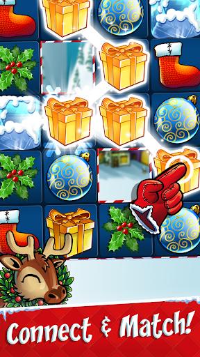 Xmas Swipe - Christmas Chain Connect Match 3 Game apktreat screenshots 1