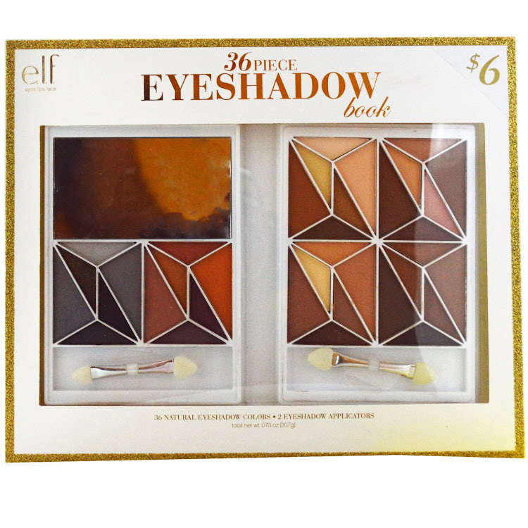 E.L.F. Cosmetics, 36 Piece Eyeshadow Book, Natural, 0.73 oz (20.7 g) by Supermodels Secrets