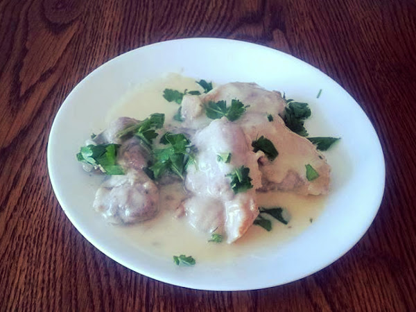 Chicken In Jack Daniels Cream Sauce Recipe