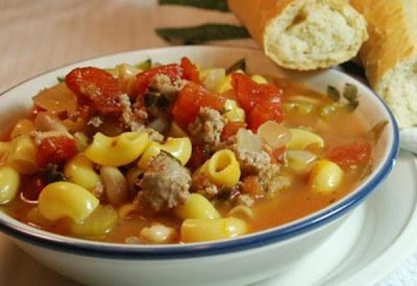 Spicy Italian Sausage And Bean Soup Recipe