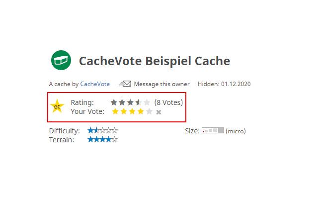CacheVote