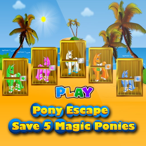 Pony Escape Save 5 Magic Pony