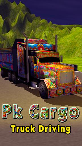 PK Cargo Truck Driving screenshots 1