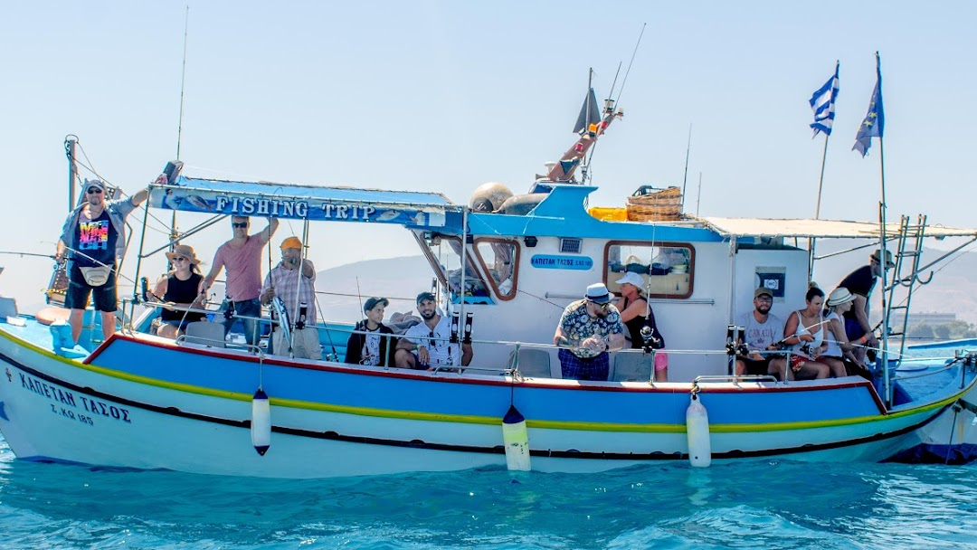 Captain Tasos Fishing Charter In Kos