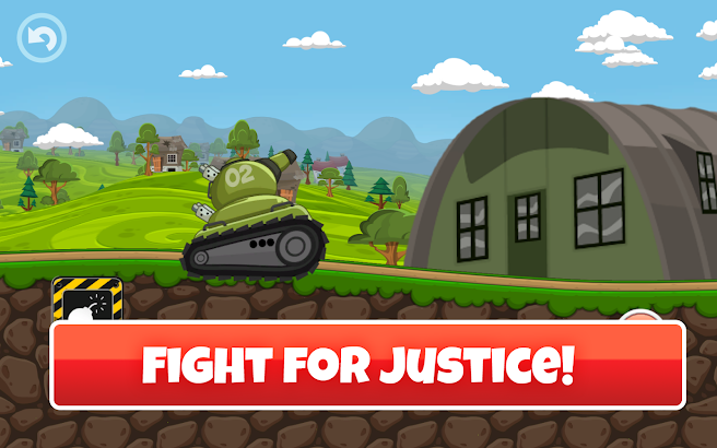 Mini Tanks World War Hero Race screenshot