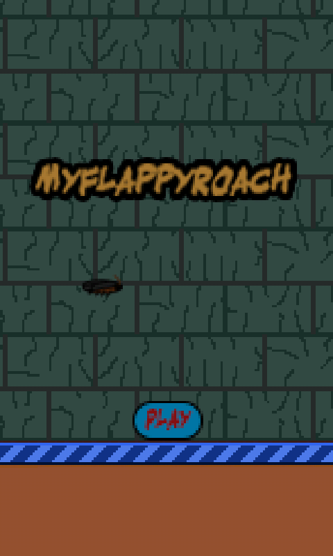 My Flappy Roach- screenshot