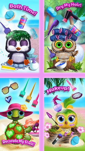 Baby Animal Hair Salon 3 screenshot 8