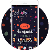 Cute cartoon theme for Oppo f3/f3 plus launcher