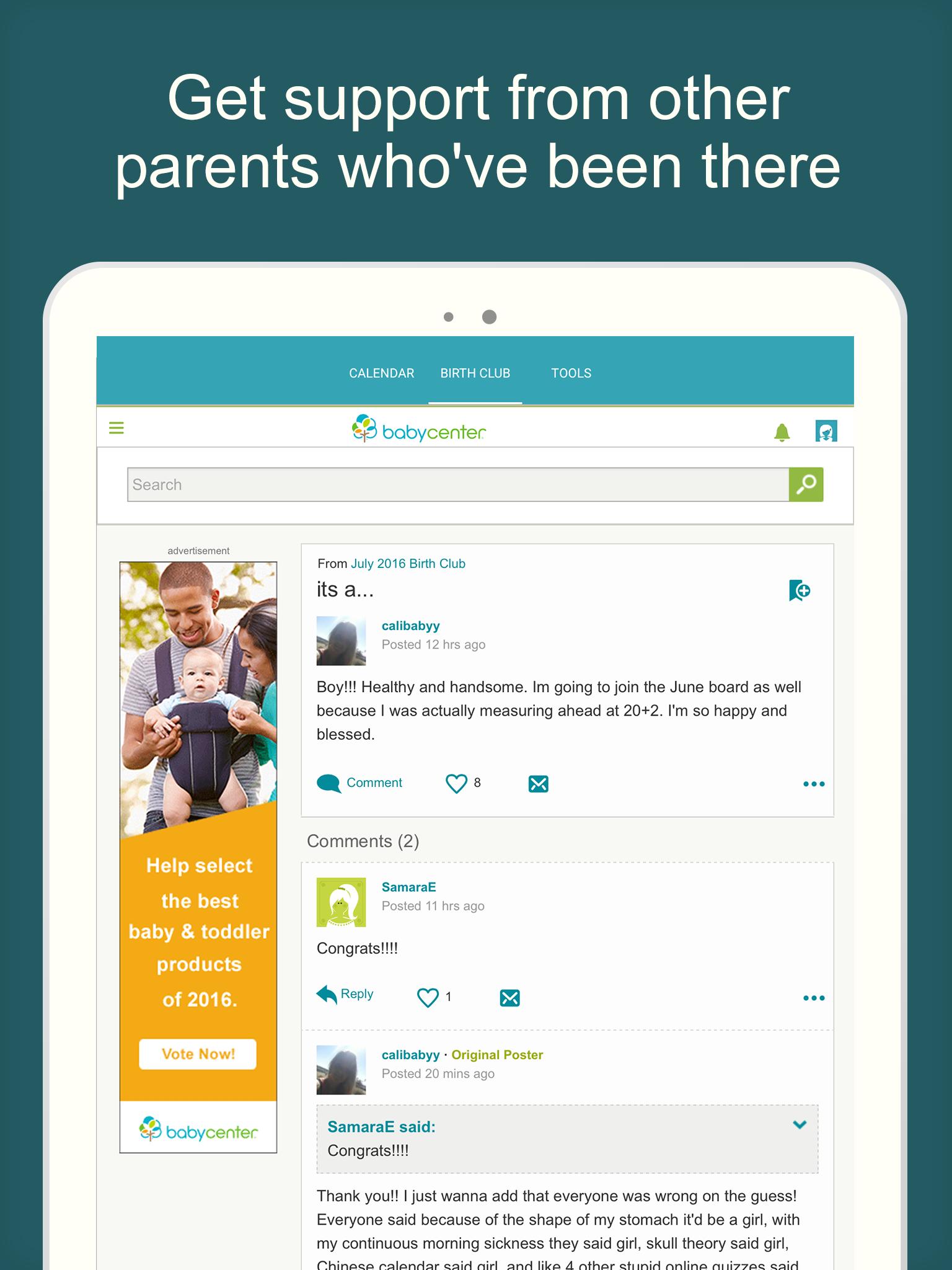 Pregnancy & Baby Daily Tracker screenshot #10