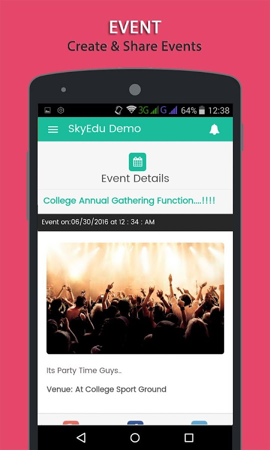 SkyEdu - Educational App- screenshot