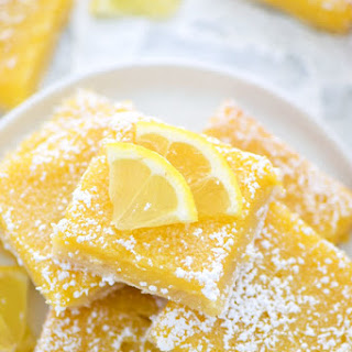 Gluten Free Lemon Squares Recipe