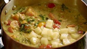Lamb Kofte and Keralan Veggie Curry thumbnail