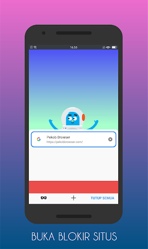 pekob pro: browser anti blokir & buka blokir 2020 screenshot 1