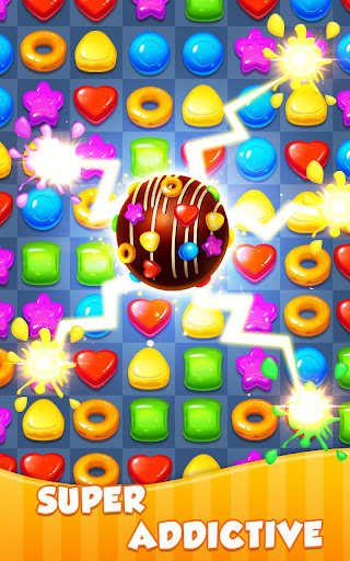 Candy Light - 2018 New Sweet Glitter Match 3 Game  screenshots EasyGameCheats.pro 5