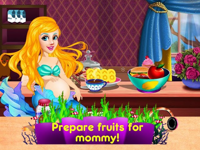 android Mermaid's Twins Baby-Preganant Screenshot 3