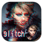 Glitch Photo Effects Icon